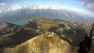 Paragliding over the grindelwald