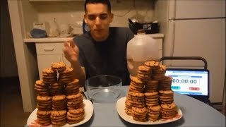 Man vs. 200+ chips ahoy cookie challenge! 11,000+ CALORIES!! (Mother's day edition)