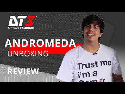 Gabinete DT3sports Andrômeda - Unboxing