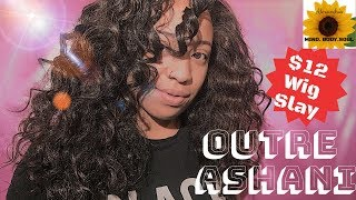 $12 Body Wave WIG| Outre Ashani Wig Review | Easy + Protective Styling