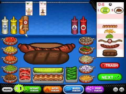 Papa S Food Games Hacked