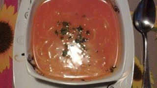 شوربة رمضان وصفة حساء بالفلفل الاحمر بالصور