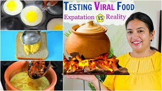 Cooking and Testing VIRAL Food - HIT or MISS..| CookWithNisha