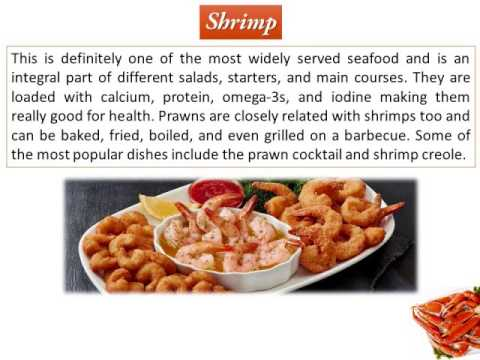 Most Popular Seafood Items Around The World