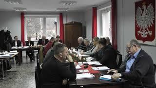 Dnia 14 grudnia 2018 r. w Ośrodku Kultury, Sportu i Turystyki we Wleniu odbyła się III Sesja Rady Mias
