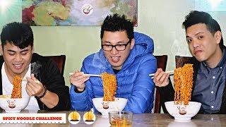 Thử Thách Ăn Mì Cay Hàn Quốc 1X