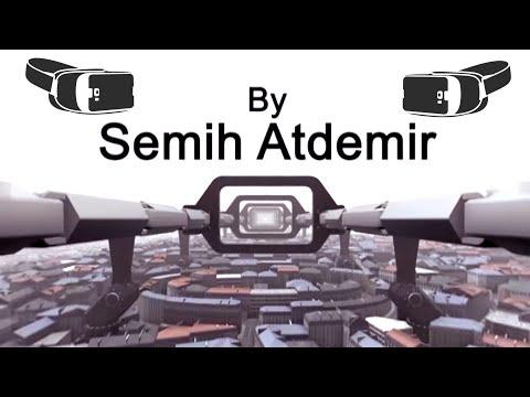 360° 3D Future Coaster VR 4K (Sanal Gerçeklik)