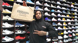 DDG Goes Shopping For Sneakers With CoolKicks