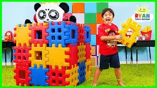 Ryan Pretend Play Building Toy Blocks Playhouse