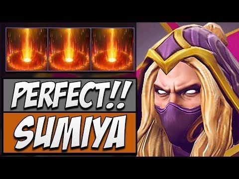 Sumiya Invoker - 7009 Matches   Dota Gameplay 7.14
