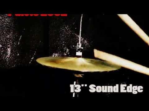"Paiste 2002 Sound Edge 13"" Hi-hats cymbal"