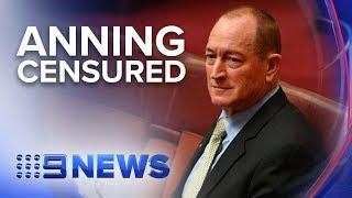 Anning censured over Christchurch remarks   Nine News Australia
