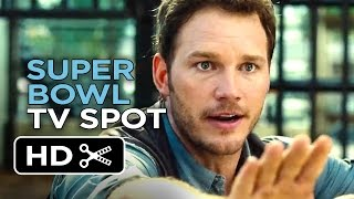 Jurassic   World Official Super Bowl TV Spot (2015) – Chris Pratt Movie HD