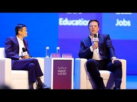 2019世界人工智能大会马云对话马斯克 | CCTV