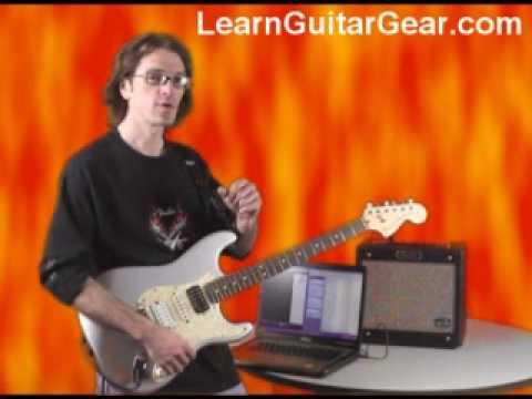 Fender G-DEC Jr.  - playing along with free MIDI backing tracks