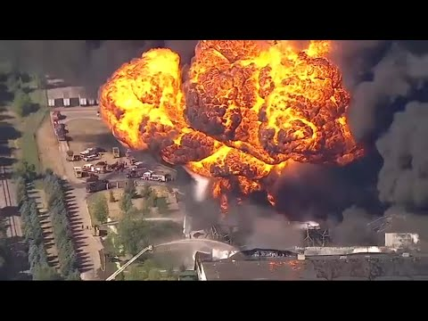 'Catastrophic' Rockton chemical plant fire could burn for days, officials warn