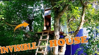INVISIBLE HOUSE ON A TREE - DIY