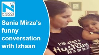Sania Mirza shares video of her funny conversation with so..