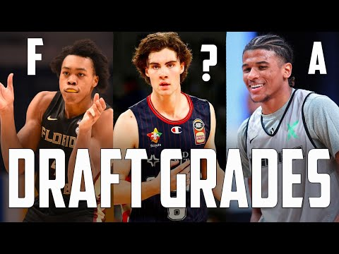 Grading EVERY Pick Made In The Top 10 Of The 2021 NBA Draft...