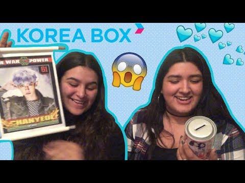 KPOP UNBOXING: KOREA BOX | KMREACTS