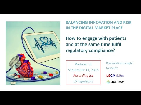 BALANCING INNOVATION AND RISK IN THE DIGITAL MARKET PLACE (Regulators)