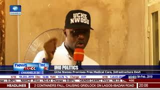 AA Gov'ship CandidateTakes Campaign To Onuimo, Okigwe LGAs