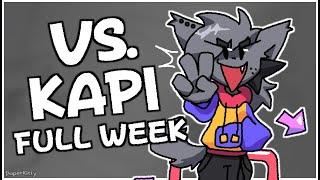 [FNF] VS. KAPI - Full Week Showcase