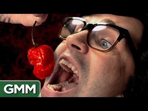 World's Hottest Pepper Challenge: Carolina Reaper