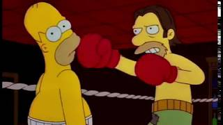 Homer Simpson Becomes A Boxer Part 2