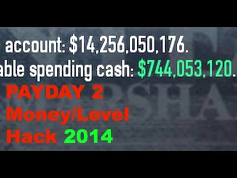 PayDay 2 Money Hack And Level 100 PC Free Easy!!!!!! September 2014 NEW!