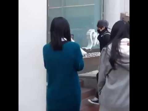 [FAN CAM] 140316 SMROOKIES JAEHYUN @ SM ENTERTAINMENT Building