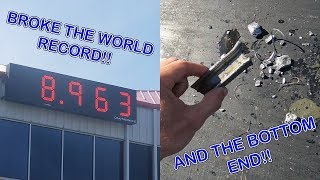 THE RECORD BREAKING 8 SECOND PASS!!