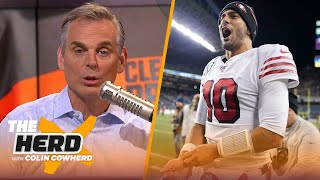 Colin Cowherd plays the 3-Word Game after NFL Week 17 | NFL | THE HERD