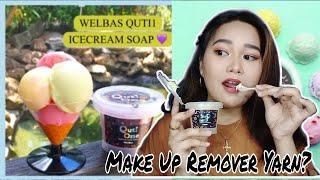 ICE CREAM SOAP CLEANSER/ MAKE UP REMOVER 🍦  | QUTi1