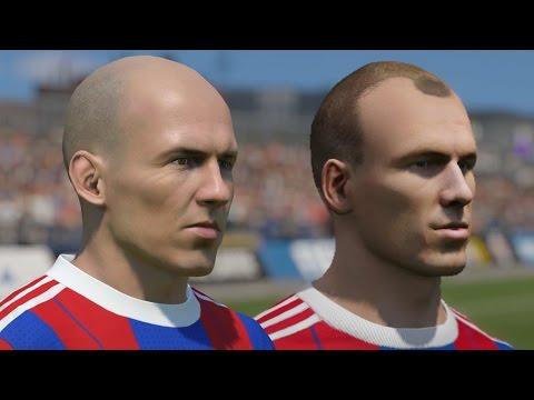 FIFA 15 vs PES 15 Head to Head Faces - Bayern Munich