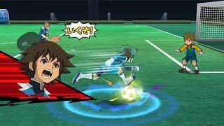 Inazuma Eleven Go Strikers 2013: Dark Emperors Vs Raimon Wii 1080p (Dolphin/Gameplay)