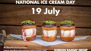 Celebrate National Ice Cream Day with Gordon Ramsay's Restaurants