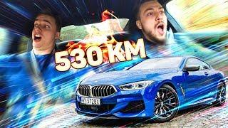 Jeździmy BMW 8 za 700 000 ZŁ 🔥 Reakcje na 530 KM mocy