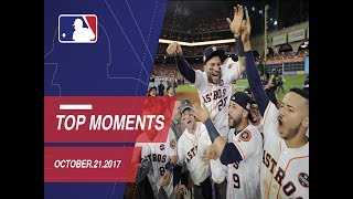 Astros clinch, plus nine moments from ALCS Game 7
