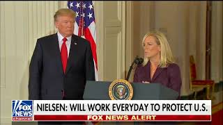 Kirstjen Nielsen Officially Accepts President Trump's Nomination to Become the Next DHS Secretary