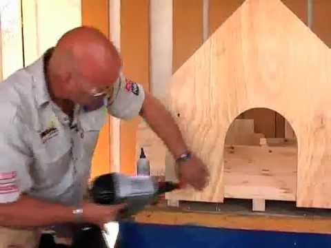diy build your own dog house youtube. Black Bedroom Furniture Sets. Home Design Ideas