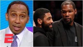 Stephen A.: Kyrie Irving has thrown Kevin Durant under the bus | Stephen A.'s World