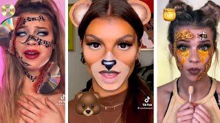 Emoji Makeup TikTok Challenge   Dark Horse by Katy Perry   Gixani