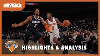 RJ Barrett Impresses In His First Ever NBA Preseason   New York Knicks