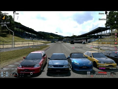 Gran Turismo 6   Ep 11 JDM Cruise/Races Online