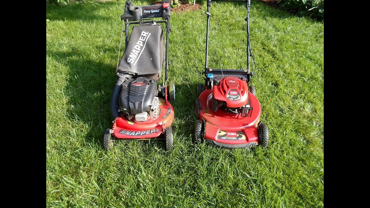 The Snapper Toro Lawn Mower Bake Off Competition Which
