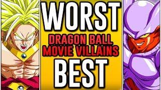 Worst To Best: Dragon Ball Movie Villains