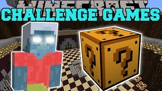 Minecraft: EVIL STEVE CHALLENGE GAMES - Lucky Block Mod - Modded Mini-Game