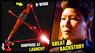 10 NEW DETAILS You Missed - Star Wars Squadrons