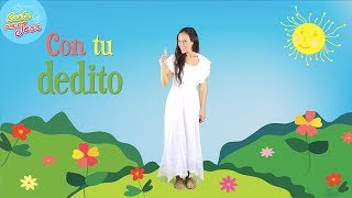 Con Tu Dedito - One Little Finger Tap Tap Tap in Spanish | Fingerplay | Spanish Songs for Kids